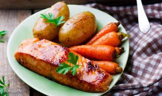 Рецепта за вечеря: Сьомга на скара с кленов сироп