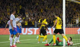Йънг Бойс изненада Манчестър Юнайтед  - 1