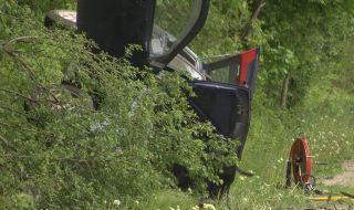 Тежка катастрофа взе жертва на пътя Велико Търново-Русе