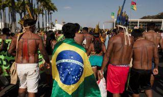 Голям протест в Бразилия