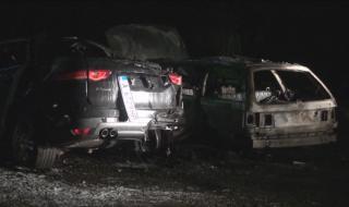 Пожарът, унищожил две коли в Бургас, е бил умишлен