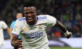 Ла Лига ще вземе мерки срещу расистките обиди към Винисиус от фен на Барселона
