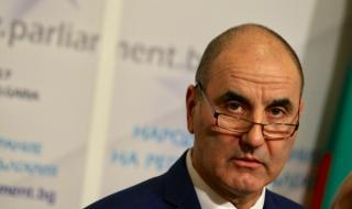 Цветанов за импийчмънта на президента: Блъф е