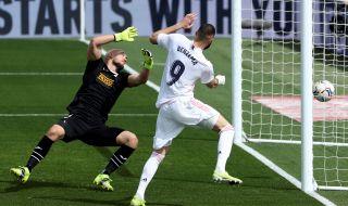Реал Мадрид вкара 5 пъти на Ейбар, но съдията отмени 3 гола - 1