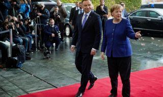 Държавният глава на Полша отказа среща с Меркел