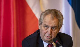 Държавният глава на Чехия с изненадващи твърдения