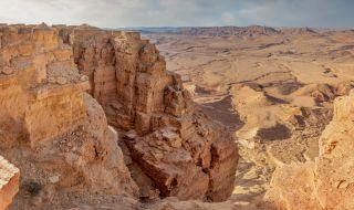 Симулират живота на Марс в пустинята Негев - 1