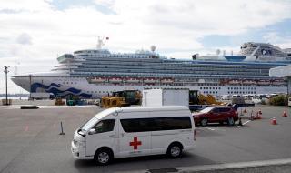 Лоши новини от круизния кораб в Япония