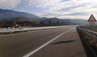 """Завърши ремонтът на опожарения мост на АМ """"Струма"""""""