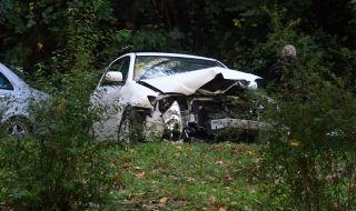 Петима пострадали при тежка катастрофа край Елин Пелин - 1