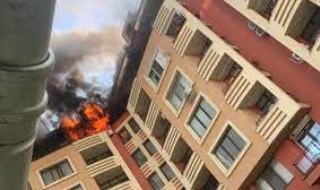 "Пожар изпепели апартамент в столичния квартал ""Дружба"""