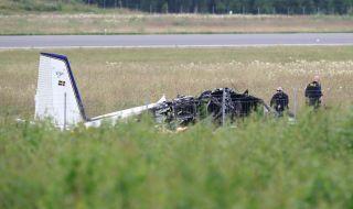 Самолет се разби в Швеция, няма оцелели