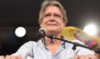 Ето го новият президент на Еквадор