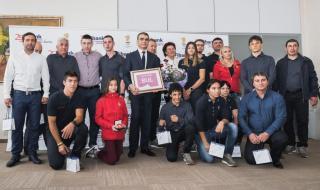 Fibank награди младите български спортисти и техните треньори