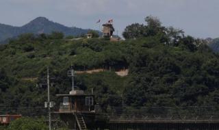 Стрелба през границата между Северна и Южна Корея