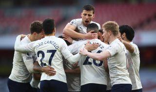 Манчестър Сити срази Арсенал с гол в 76-ата секунда