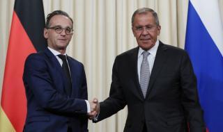 Голяма среща между Русия и Германия