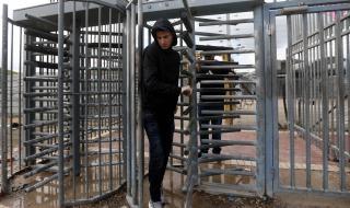Израел затвори всички пропускателни пунктове
