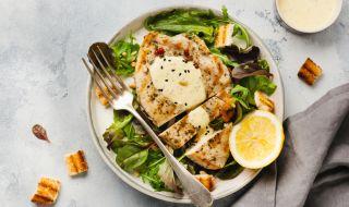 Рецепта за вечеря: Пуешки стекове с бяло вино - 1