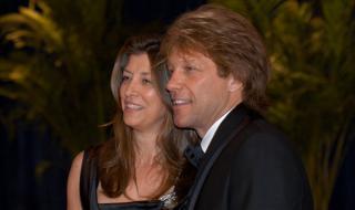 Джон Бон Джоуви - 40 години със съпругата си Доротея