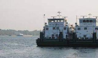Изпитваме нов кораб за драгиране в река Дунав - 1