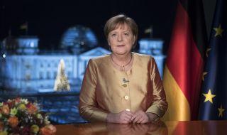 Меркел с новогодишно обръщение