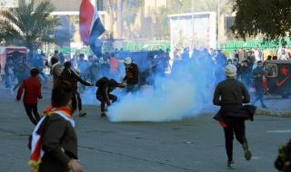 Десетки ранени при сблъсъци в Ирак (СНИМКИ)
