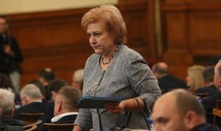 Менда Стоянова внася промени в закона за валутния курс