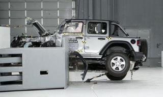 Няма да доработват Jeep Wrangler след неуспешния краш тест