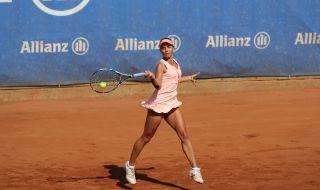 Виктория Томова е във втори кръг на турнира в Колумбия
