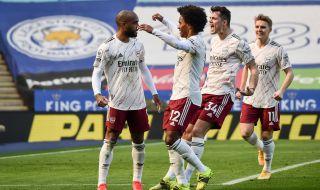 Арсенал с ценна победа след обрат срещу Лестър (ВИДЕО)