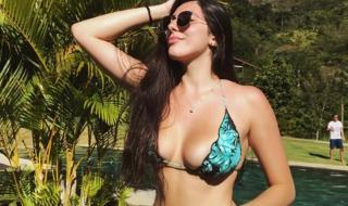 Красива волейболистка разпалва страстите в социалните мрежи (СНИМКИ)