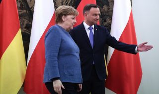 Анджей Дуда обясни защо не се е срещнал с Ангела Меркел - 1