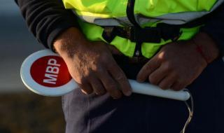 Полицаи си спретнаха гонка с шофьор в Сливен