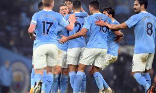 Манчестър Сити с изключително ценна победа срещу Брайтън