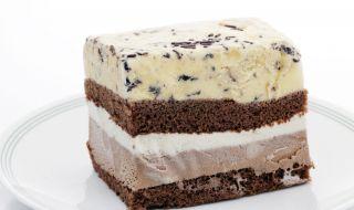 Рецепта на деня: Сладоледена торта с бишкоти - 1