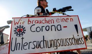 Хиляди излязоха на протест в Берлин срещу ограничителните мерки