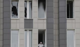 Един човек загина при нов пожар в руска болница, в която лекуват болни от COVID-19