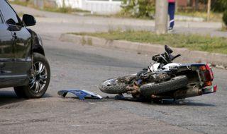 Мотоциклетист загина при катастрофа край Панагюрище