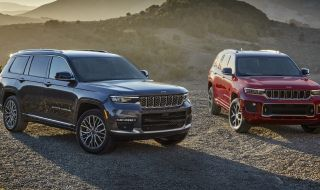 Защо Jeep се принуди да продава новото Grand Cherokee L без въздушно окачване? - 1