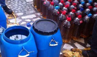 Задържаха един тон спирт и 368 литра ракия без документи