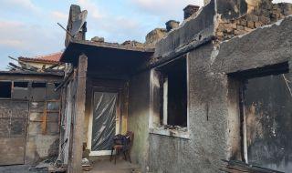 Пожар отне живота на мъж в Монтанско