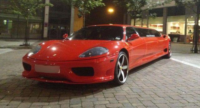 Лимузина Ferrari с 8 спортни седалки си търси нов собственик