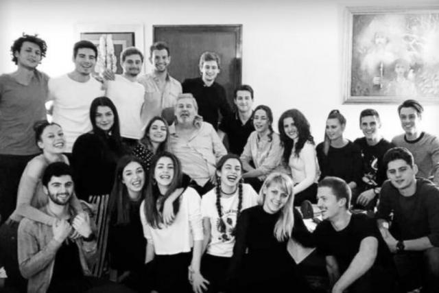 Последният клас на Стефан Данаилов завършва НАТФИЗ