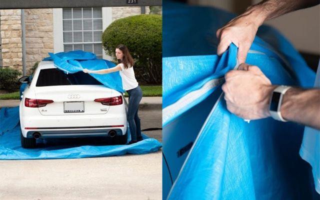 Как да спасите колата от наводнение: просто изобретение от една жена-инженер (ВИДЕО)