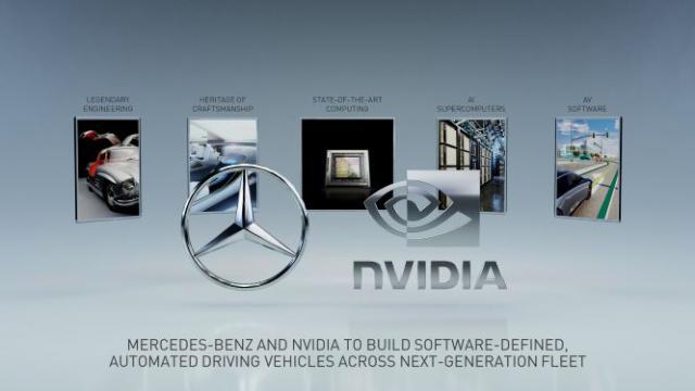 NVIDIA помага за автономните коли на Mercedes