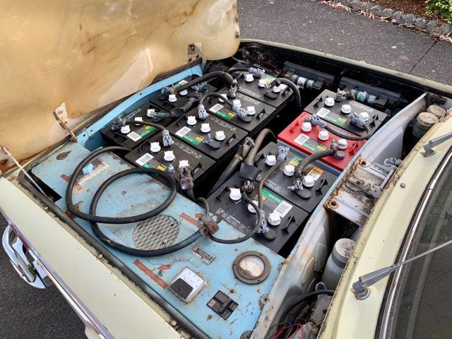 Продава се електромобил от... 1968 година