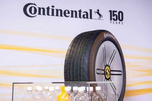 Continental ще произвежда гуми от глухарчета и пластмасови бутилки