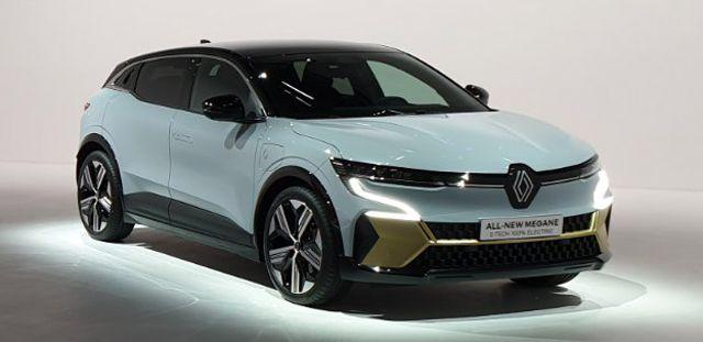 Ето го новото Renault Megane - 100% електрическо
