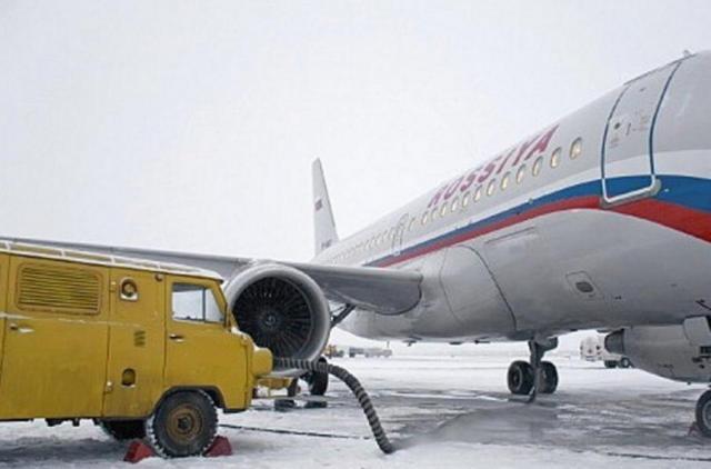 УАЗ-ка с двигател от самолет